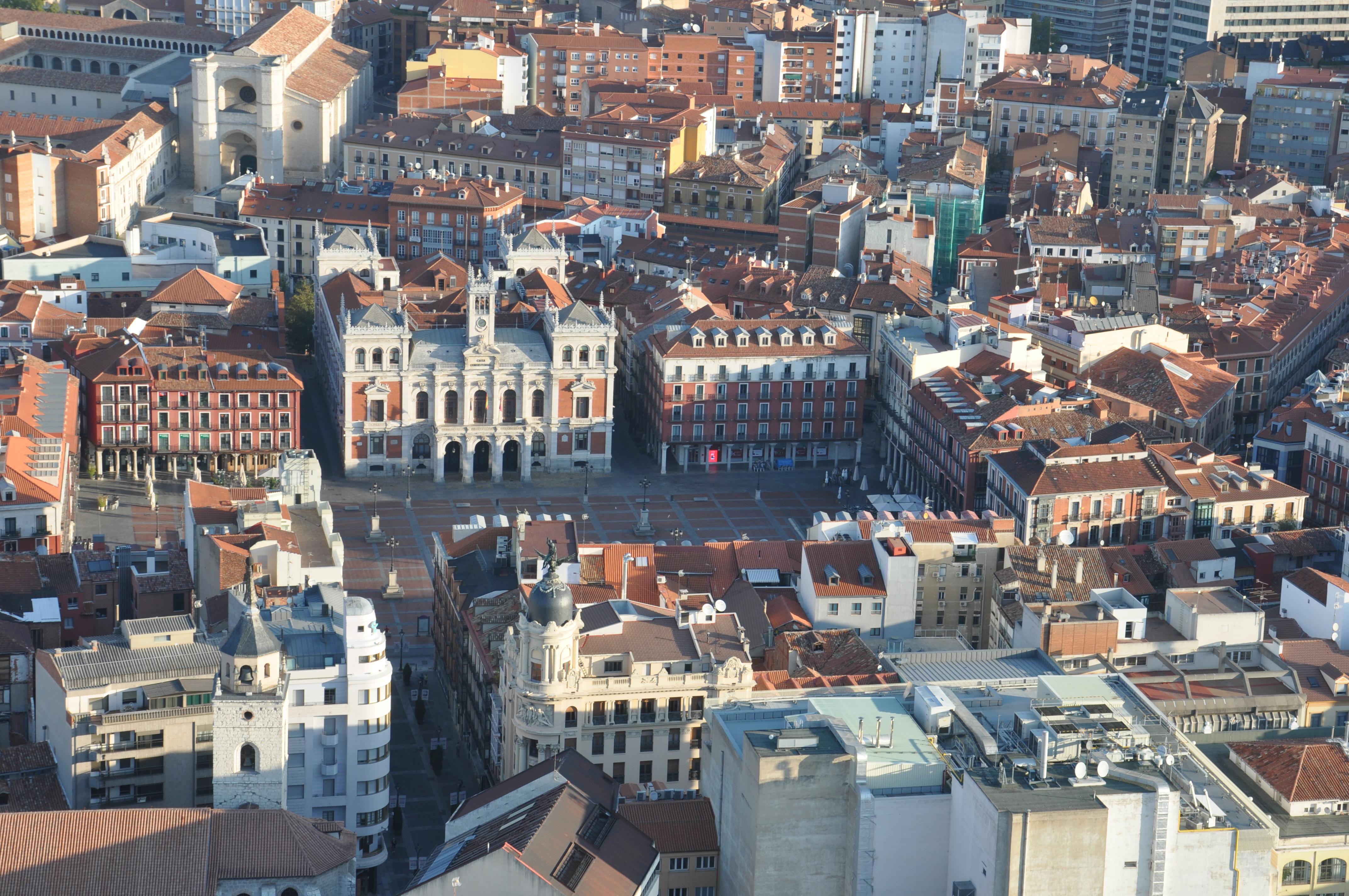 viaje intercambio de parejas paseo en Valladolid